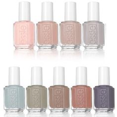 Essie Lacquer Fall 2017 Wild Nudes Collection