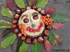 sestavování obrázků z přírodnin Autumn Activities For Kids, Preschool Activities, Land Art, Nature Crafts, Fall Crafts, Art For Kids, Crafts For Kids, Trash Art, Forest School
