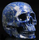 "2.0""Lapis Lazuli Carved Crystal Skull Realistic Crystal Healing"