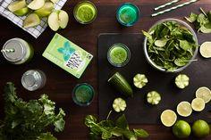 vihreä superfoodsmoothie