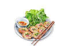 Vietnamese Food Illustrations