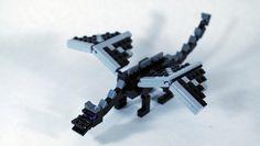 LEGO Minecraft Ender Dragon (Minifig Scale) by fallentomato, via Flickr