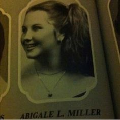Abby Lee Miller as a child. Whattt?? I know this is old but ONE SIMPLY DOES NOT PASS UP THY CHANCE TO PIN THY PIN OF THY YOUNG ABBY LEE MILLER