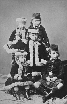 The Children of the Prince and Princess of Wales, November 1871
