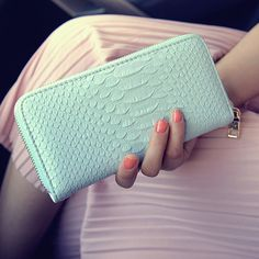 Wallet Female Long Wallets Purses PU leather Crocodile pattern zip passport cover Coin Purse credit card holder women bags B798 <3 Clicking on the image will lead you to find similar product
