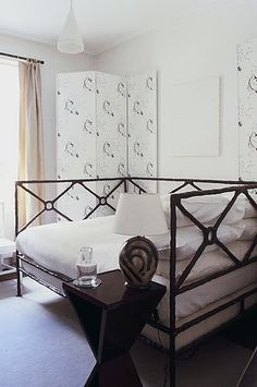 Great Way To Have Full Size Daybed With Canopy  Maybe In All Cream?   Girl  Bedroom   Pinterest   Full Size Daybed, Daybed And Canopy