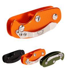 Pocket Tool Aluminum Key Holder Organizer Clip - Nifty Thrifty Store - 1