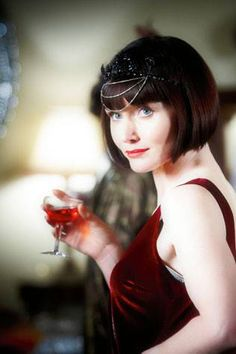 Miss Fisher's Murder Mysteries is worth catching on Netflix, if only for the costumes - twenties fashion - Phryne Fisher - Essie Davis
