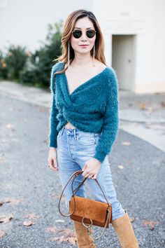 Stylewich by Elizabeth Lee, Fashion Blogger, Outfit Ideas, Style Inspiration, Winter Fashion, Chloe Faye Bag, Isabel Marant Robby Boots