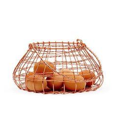 Image of Copper Egg Basket