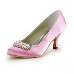 BELLR V Satin Damen Hochzeit Stiletto Heels Pumps mit Strass-Schuhe (weitere Farben) - http://on-line-kaufen.de/bellr-v/bellr-v-satin-damen-hochzeit-stiletto-heels-pumps