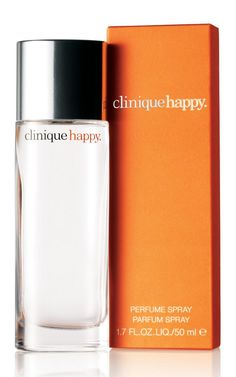 Clinique Happy Perfume - find a scent that goes well with your body chemistry & STICK to it! I have been wearing Clinique Happy since I was 11yrs old