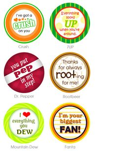 "Put some ""POP"" into your life!  Love these printables..."