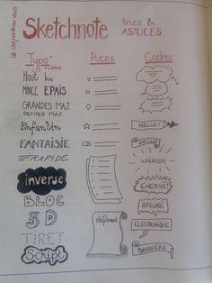 comment réaliser sketchnote