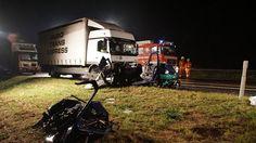 Unwetter-Chaos in Süddeutschland: Frau stirbt bei Aquaplaning-Unfall