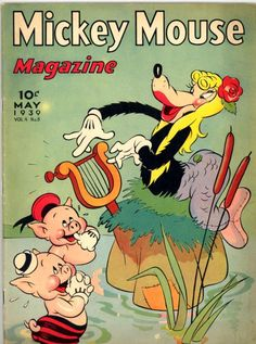 Mickey Mouse Magazine - May 1939