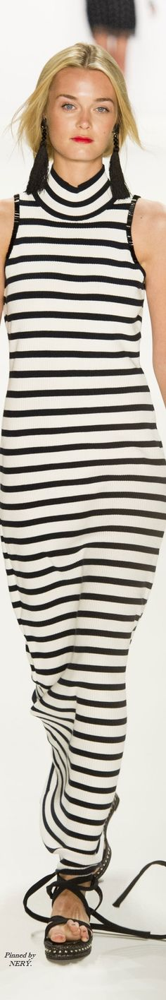 Laurel - Spring 2017 by tanya Dressy Outfits, Cool Outfits, Fashion Outfits, Fashion Ideas, Fashion 2020, High Fashion, Womens Fashion, Stripes Fashion, Black White Fashion