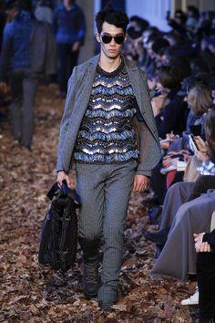 Missoni Fall 2016 Menswear Fashion Show