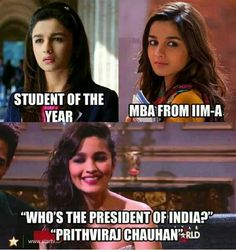 Funny Alia Bhatt - Whatsapp Forwards, Jokes, Riddles and Puzzles Funny Adult Memes, Funny Memes Images, Jokes Pics, Crazy Funny Memes, Funny Video Memes, Really Funny Memes, Funny Relatable Memes, Wtf Funny, Funny Facts