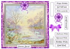 SWAN LAKE 3 MULTI SENTIMENTS on Craftsuprint - View Now!