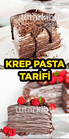 Krep Pasta Tarifi Pasta Recipes, Dinner Recipes, Crepe Cake, Food Articles, Diet And Nutrition, Cookie Recipes, Blog, Deserts, Food And Drink