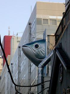Tokyo's Tsukiji Fish Market #architecture