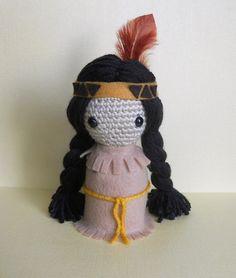 Little Native American Doll by ~missdolkapots on deviantART