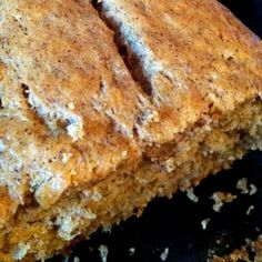 Yummy banana bread!  Made twice now...much better with 4 bananas