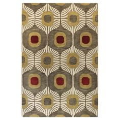 Bring visual appeal to your den or define areas in the living room with this lovely hand-tufted wool rug, showcasing an ogee motif in mocha. Modern Area Rugs, Contemporary Area Rugs, Contemporary Style, Carpet Runner, Rug Runner, Textiles, Construction, Hand Tufted Rugs, Wood Bridge