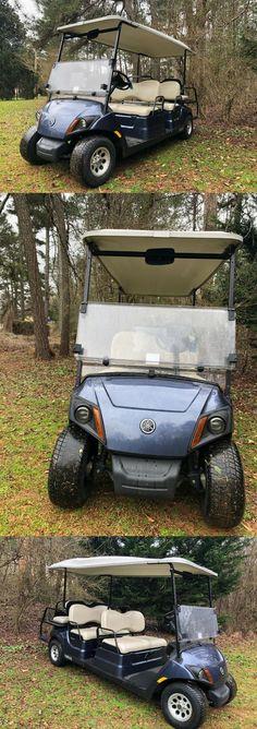 2017 Yamaha Drive2 GAS EFI Quietech golf cart