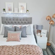 MALM Chest of 2 drawers white IKEA Girl Bedroom Designs Chest drawers Ikea Malm White Teen Bedroom Designs, Bedroom Decor For Teen Girls, Cute Bedroom Ideas, Cute Room Decor, Room Ideas Bedroom, Small Room Bedroom, Home Decor Bedroom, Bedroom Inspiration, Grey Bedroom Design
