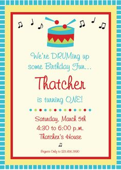 Baby Jam Music Inspired 1st Birthday Party Pinterest DIY