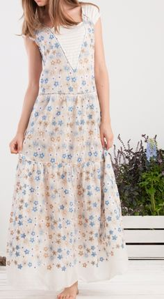 summer dress #momoé #thinkhappy flower embroidery summer mood #spring #summer #collection