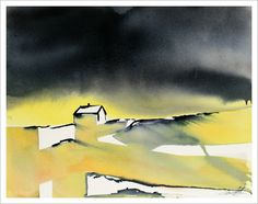 Northern Bliss - Watercolour painting by R.T.Brokstad