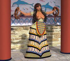 Snake Goddess again by Chronophontes on DeviantArt