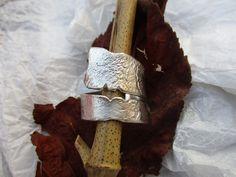 Spiralring , Ring aus 925/ooo Silber