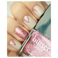 Try spring's glitter polishes using do it yourself nail art. Drugstores offer nail design templates and applicators that allow you to use any polish. Check CVS
