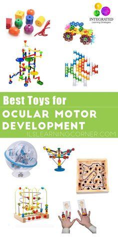 Ocular Motor: Best Ocular Motor Development Toys for Reading and Handwriting | ilslearningcorner...