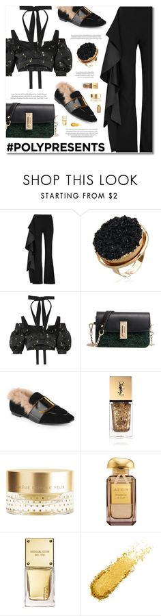 """""""#PolyPresents: Fancy Pants"""" by defivirda on Polyvore featuring Solace, Erdem, Yves Saint Laurent, Orlane, Michael Kors, contestentry and polyPresents"""