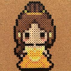 Belle (Beauty and the Beast) perler beads by tsubasa.yamashita
