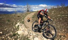 Photo of in Eagle Mountain, Utah, United States. MTB Dog on Deadwood Trail in Eagle Mountain Mtb Trails, Mountain Bike Trails, Mtb Bike, Bmx, Utah, Eagle, Around The Worlds, United States, History