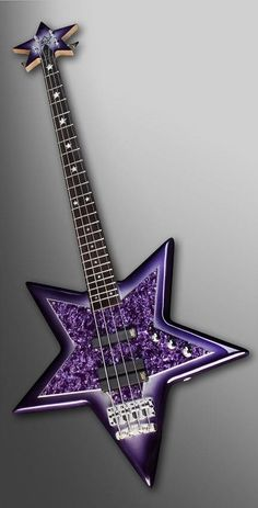 WARWICK Bootsy Collins SpaceBass Guitar - Special Purple Bootsy Finish... This is too wild!  Gotta love Bootsy, and gotta love purple!