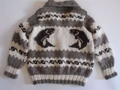 Bought an original Cowichan sweater today for the rainy west coast winter. The natural wool in these sweaters contains an oil called lanolin which repels water. Love it.