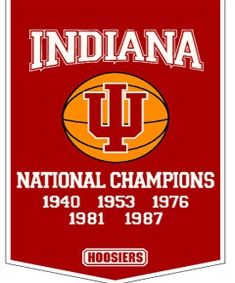 Shop for Indiana Hoosiers NCAA Basketball Dynasty Banner. Get free delivery On EVERYTHING* Overstock - Your Online Collectibles Outlet Store! Houston Basketball, Indiana Basketball, Basketball Tricks, Basketball Games, College Basketball, Pitt Basketball, Basketball Court, Basketball Practice, Basketball Legends