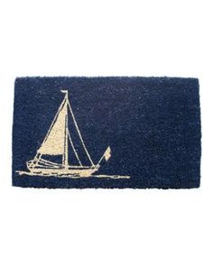 Sailboat Doormat #Coastal