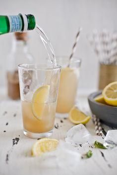 ginger lemongrass basil spritzer. #WOWfoodanddrink