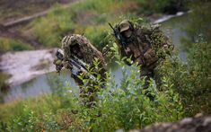 Norwegian Sniper Team armed with Barrett M82 during exercise