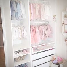 Baby room Super Ikea Closet Baby Wardrobes Ideas Silk Fabric Buying Guide Silk is one Baby Room Closet, Baby Bedroom, Baby Boy Rooms, Baby Room Decor, Kids Bedroom, Baby Closets, Little Girl Closet, Baby Wardrobe Ideas, Baby Wardrobe Organisation