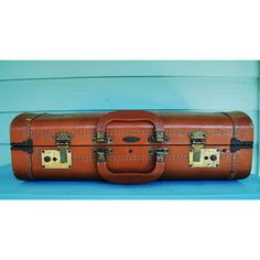 The Vacationer Leather Luggage, $54, now featured on Fab.