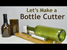 Cut Glass Bottles in 3 Minutes with $3. Corte garrafa de vidro (botella de vidrio) em 3 minutos - YouTube